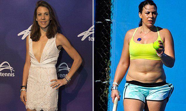 Marion Bartoli flaunts her lean physique after shedding 15 kgs