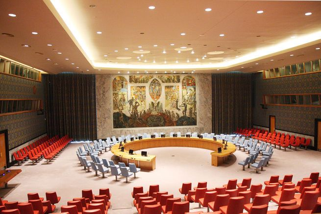 A look inside the United Nations Security Council Chamber's $2.1 billion restoration.