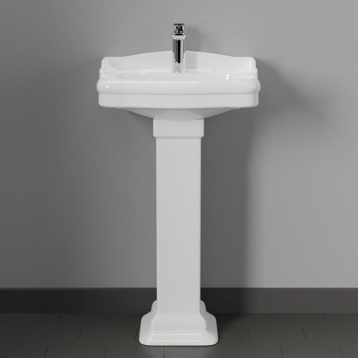 Chipley 100 Vitreous China Pedestal Sink Pedestal Sink Sink Pedestal Sinks