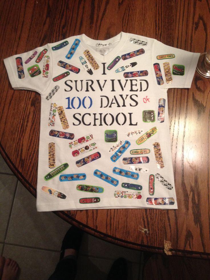 100 days of school tshirt