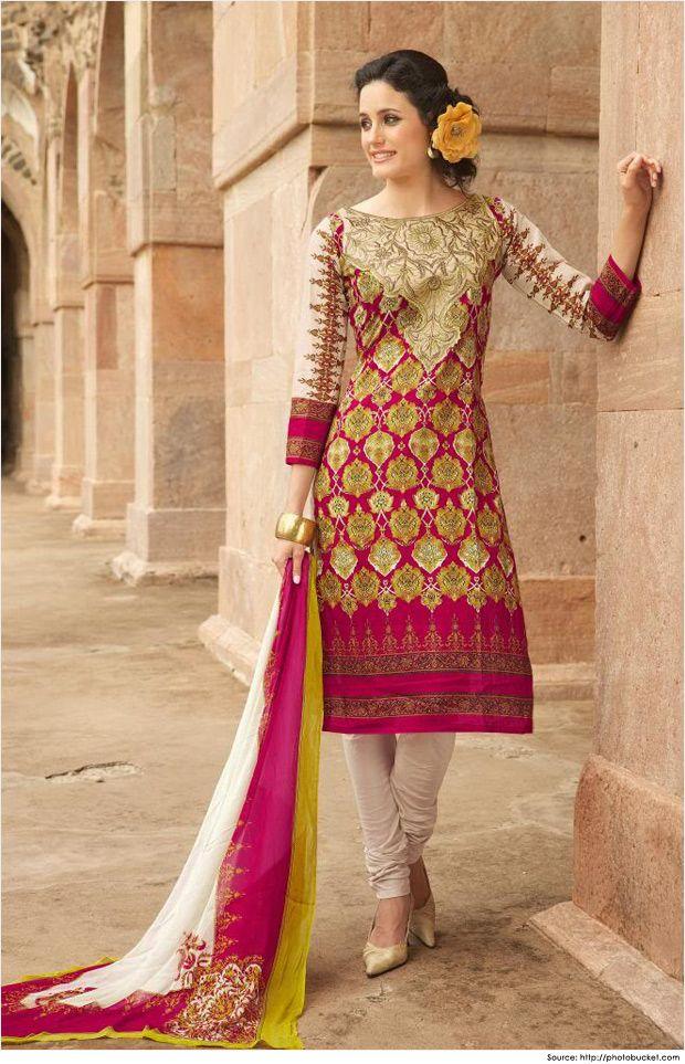 Cotton Salwar Kameez Neck Designs | Salwar Neck Pattern ...