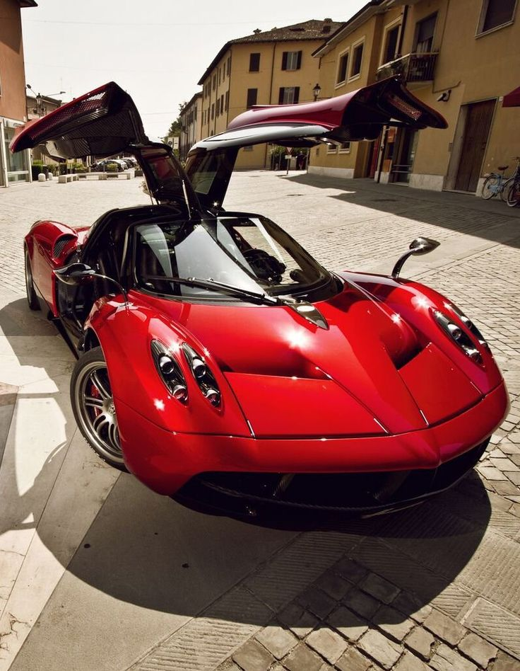 #JustWheels. #Cars. Love these doors -- Pagani Huayra