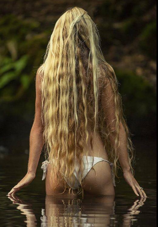 Swimming Hole Long Hair Hair Power Hair Long Hair