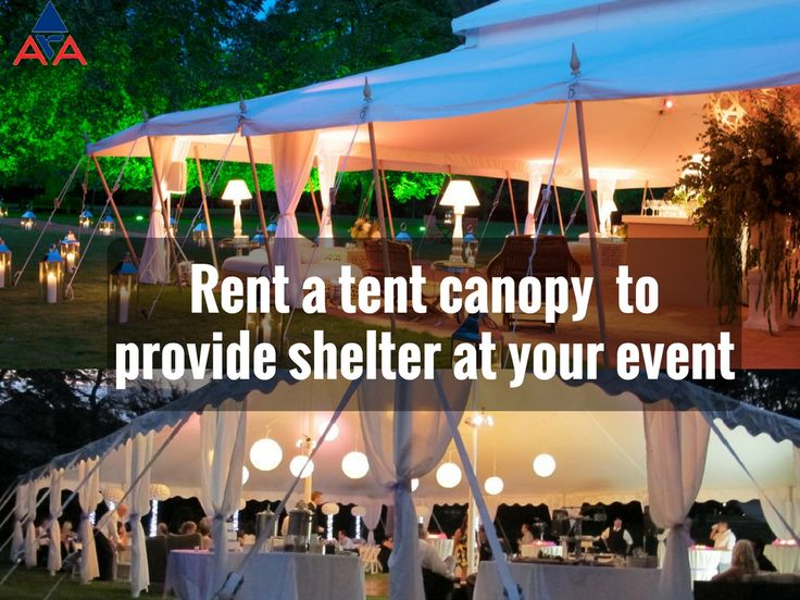 We Offer Many Different Sizes Of Tents Whether You Are Planning A Large Wedding