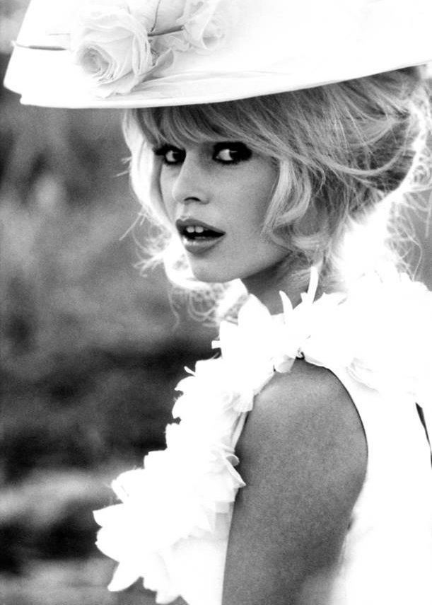 Brigitte Bardot photographed by Brian Duffy for Elle France, 1965.