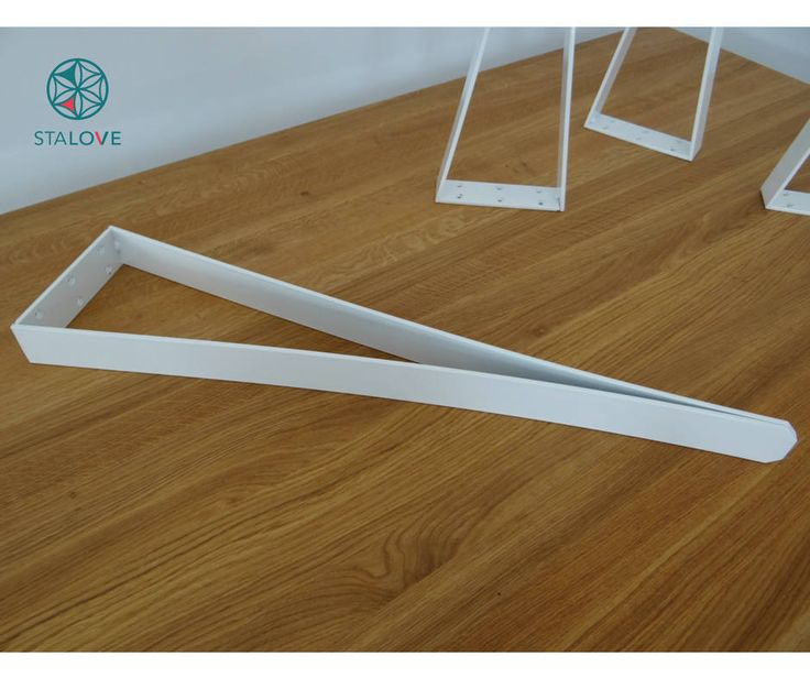 Metal table legs for dining table. Unique V-shape table legs. Office desk legs. Handmade by StaloveStudio by StaloveStudio on Etsy