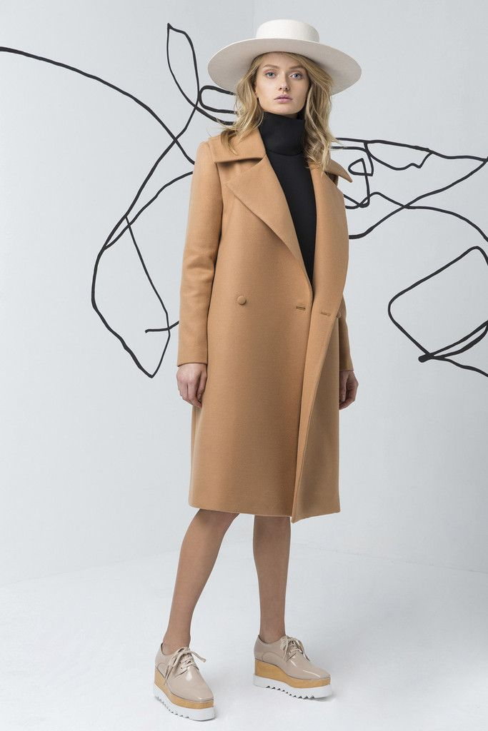 C/MEO COLLECTIVE camel coat is available at suitster.com