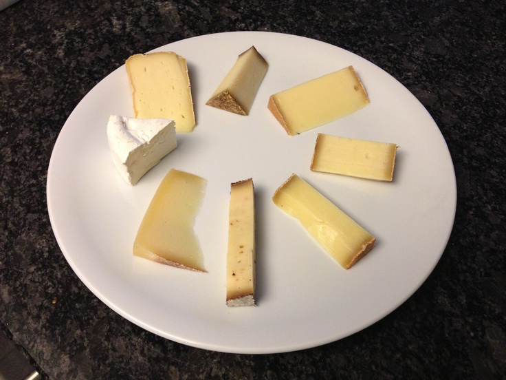 Cheese tasting of Rolf Beeler's hand picked new cheeses in Switzerland