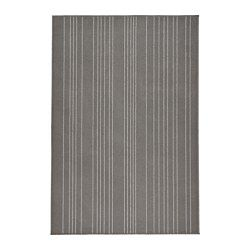 IKEA - HULSIG, Rug, low pile, Durable, stain resistant and easy to care for since the rug is made of synthetic fibers.The anti-slip backing keeps the rug firmly in place on the floor and reduces the risk of slipping.