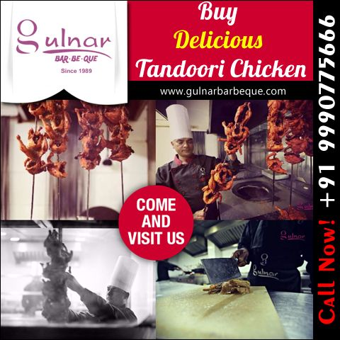Online Buy Delicious Tandoori Chicken For more info:- www.gulnarbarbeque.com Contact us:- +91 9990775666