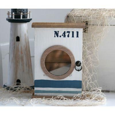 Szafka na klucze Morska z bulajem N4711
