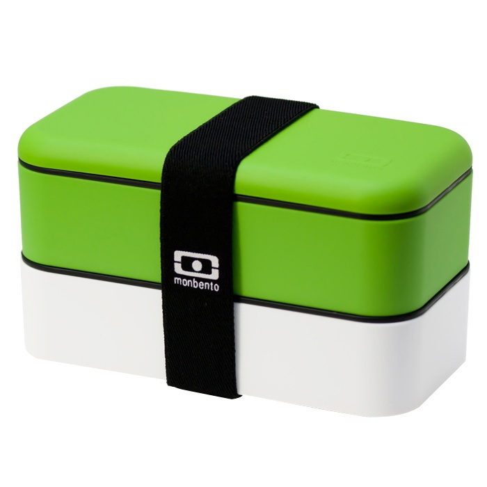 BentoBox di MonBento Verde/Bianco su www.fourshopping.it/Monbento