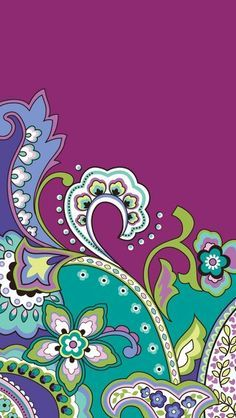 Cool Vera Bradley background for the iPhone. (с ...