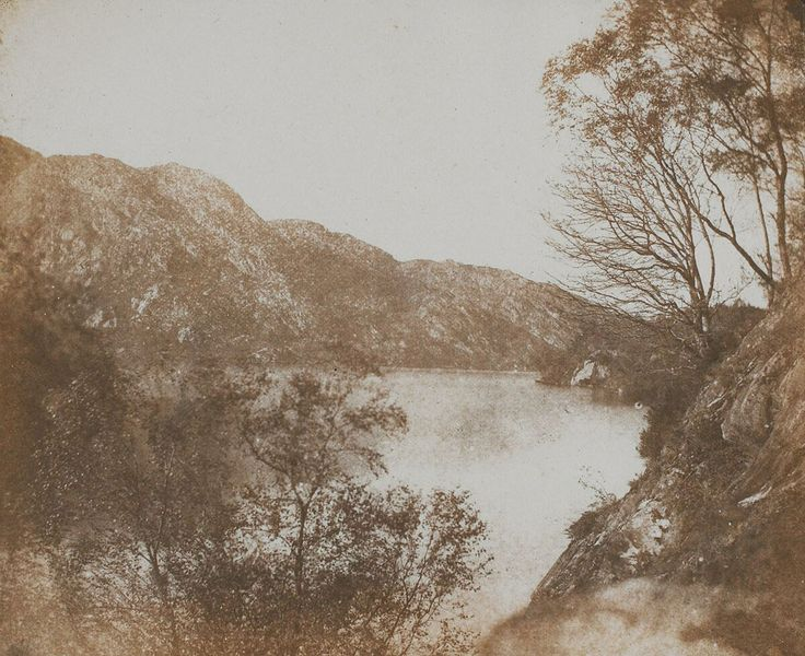 Loch Katrine - William Henry Fox Talbot - BMA - Kalotypia – Wikipedia, wolna encyklopedia