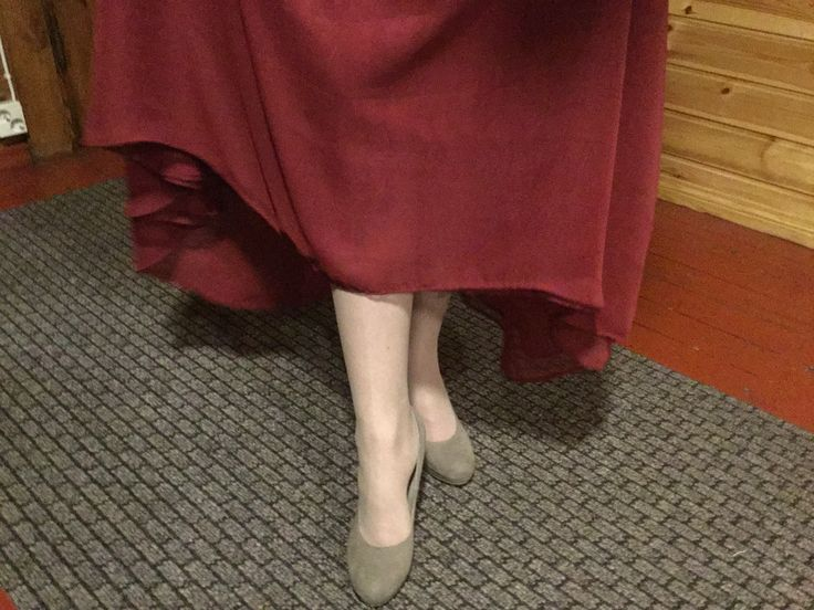 Nää on nin hyvät kävellä. Mutta sukkasillaan tanssin!