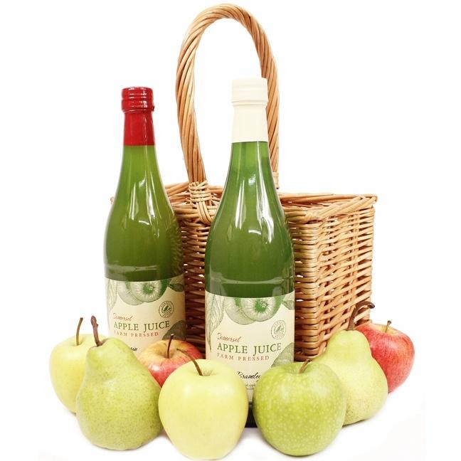 Apple Juice Crate (2 bottles)