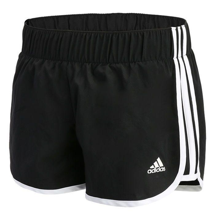 Adidas Women'S Marathon 10 Short Running Fitness Gym Training Pants Black Ai8111