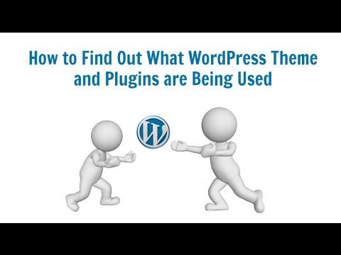 How to Find Out What WordPress Theme and Plugins are Being Used | Alison M Wood