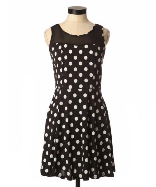 kismet polka dot dress #Bootlegger