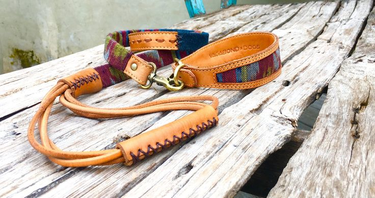 This is our boho dog collection!  Artisanal leather dog collars, leashes and accessories designed to be unique and beautifully handmade.   Luxury dog accessories of the highest quality leather and fabrication guaranteed to last a lifetime.