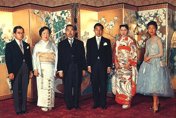 A banquet of the marriage of His Majesty the Emperor and Her Majesty the Empress. 1959.