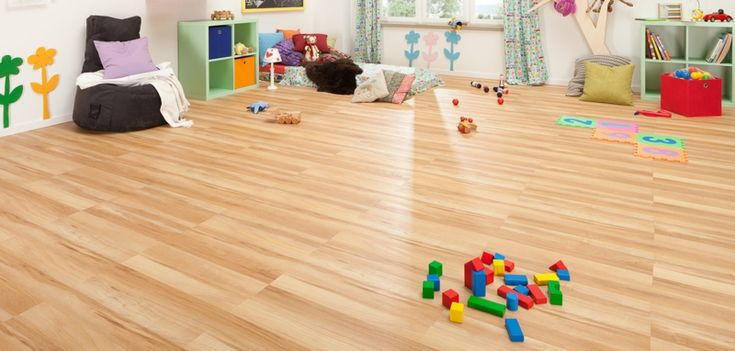 Vinylboden im Kinderzimmer verlegen