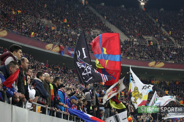 Spectacular view at National Arena at Steaua - Chelsea London.