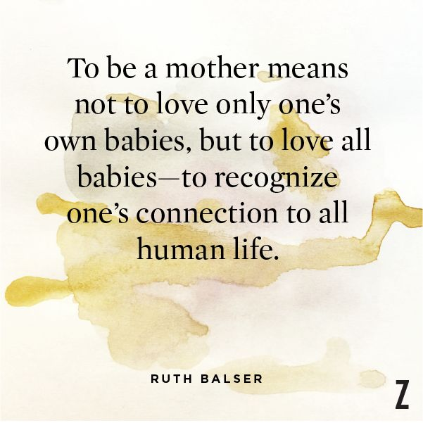 Ruth Balser wrote in to the Op-Ed section of the New York Times in 1982. We loved this beautiful truth.