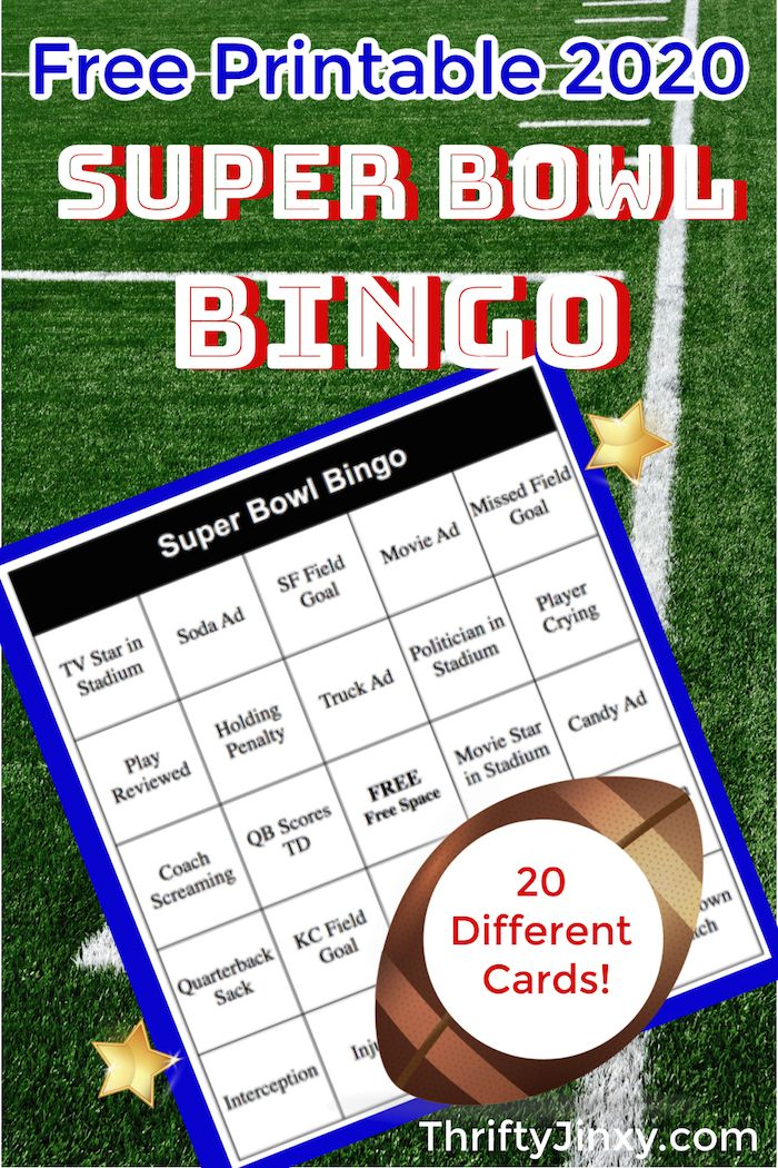 20 free printable holiday bingo cards