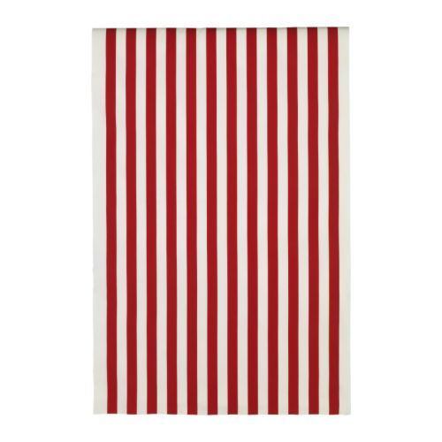 Ikea: Sofia fabric - wide stripe in red, $8/yd...I also have 3 yards of this in navy blue.