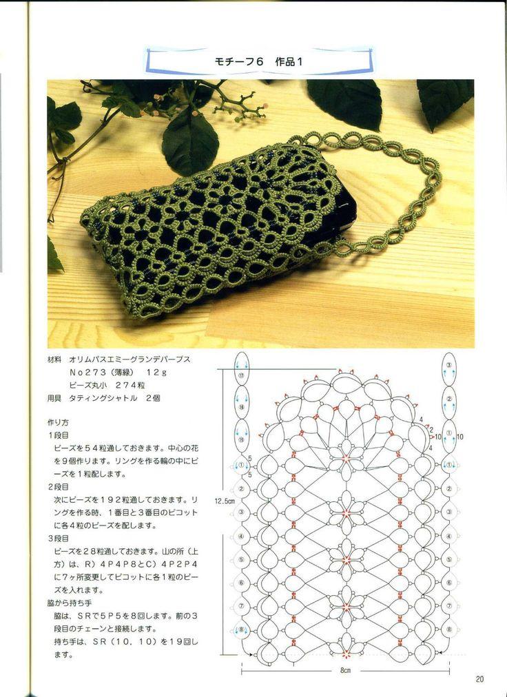 Tatting pattern tatting lace tatting collar by LibraryPatterns