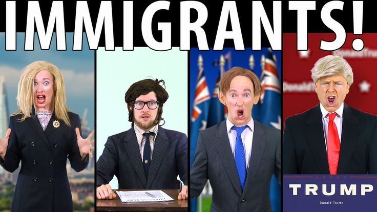 IMMIGRANTS! Feat. Donald Trump & Tony Abbott [RAP NEWS 34] - Oh My! When I wasn't looking the immigrants have arrived and taken over! It; Donald Comb-Over Trump! The Koch Brothers! Vander Slut! The Entire Fox News Network, and the Loraxes!
