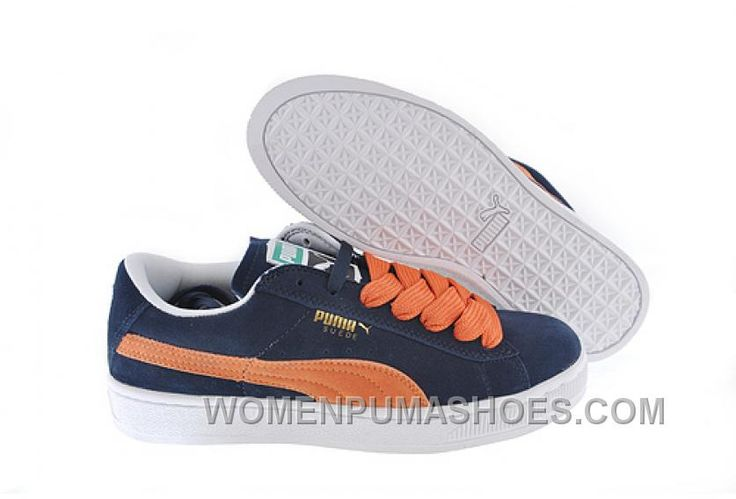 http://www.womenpumashoes.com/womens-puma-suede-blueorange-lastest-4ep7s.html WOMEN'S PUMA SUEDE BLUE-ORANGE LASTEST 4EP7S Only $79.00 , Free Shipping!