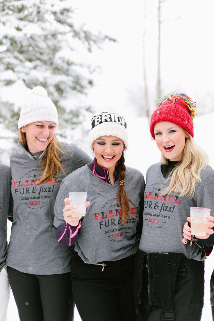 Ski weekend bachelorette. Anne Claire Allen Planning & Design. Photography: Sorella Muse - sorella-muse.com