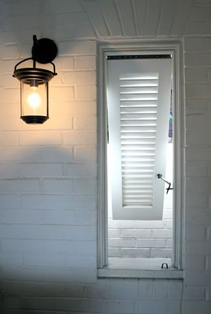 Metro Wall Sconce Urban Electric : Bermuda shutter / Hightower wall sconce by Darryl Carter for the Urban Electric Co. / Pursley ...