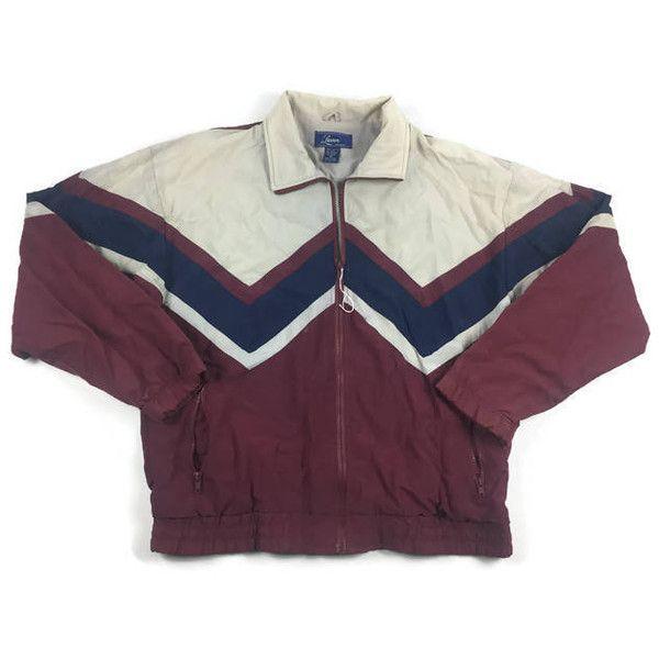 Vintage Lavon Windbreaker Jacket (Sz Medium) 90s Windbreaker