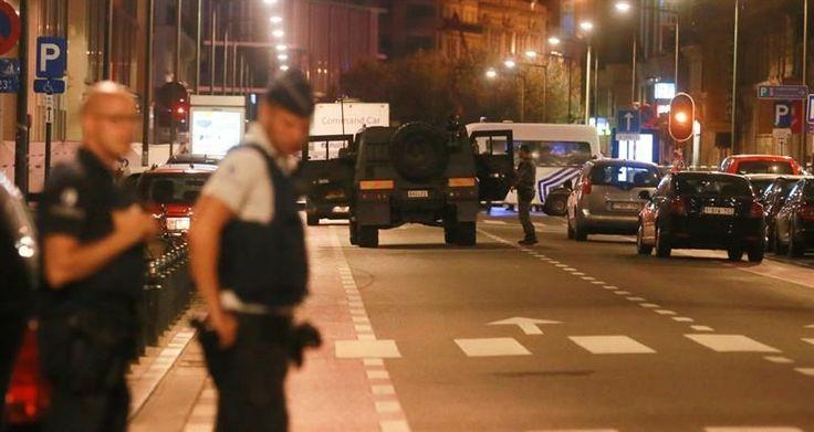 Muere un hombre tras atacar a dos militares en el centro de Bruselas al grito de Alá es grande