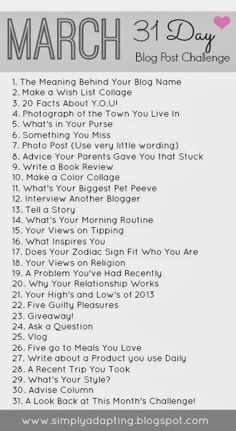 Twenty Facts About Me   The Small Stuff Counts Blog