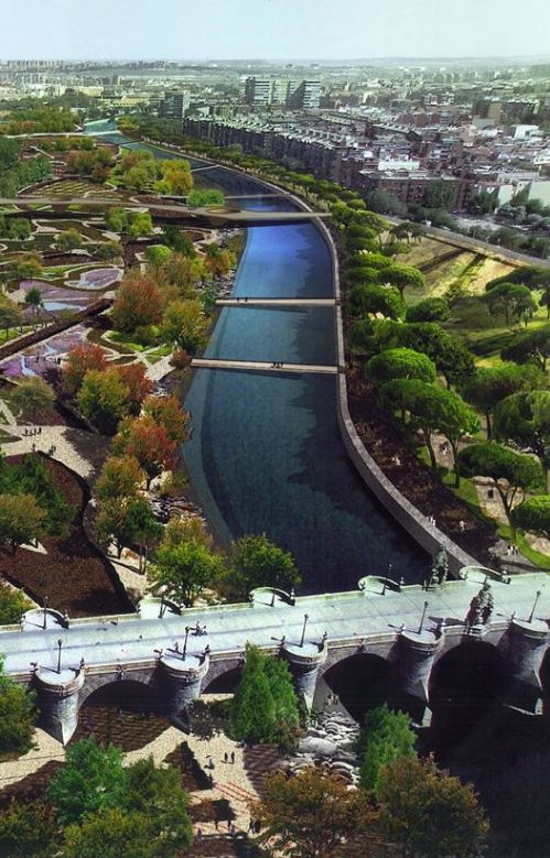 Manzanares River Madrid | Spain