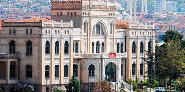State Art and Sculpture Museum. Ankara