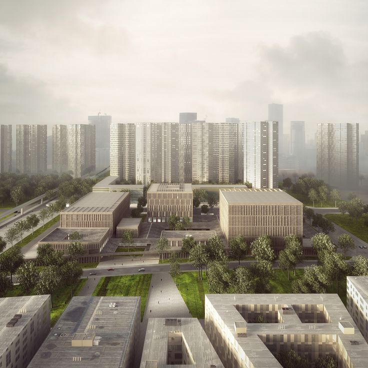 Gallery - Tradition and Modernity Come Together in Mecanoo and HS Architects' Proposal for the Longhua Art Museum and Library - 6