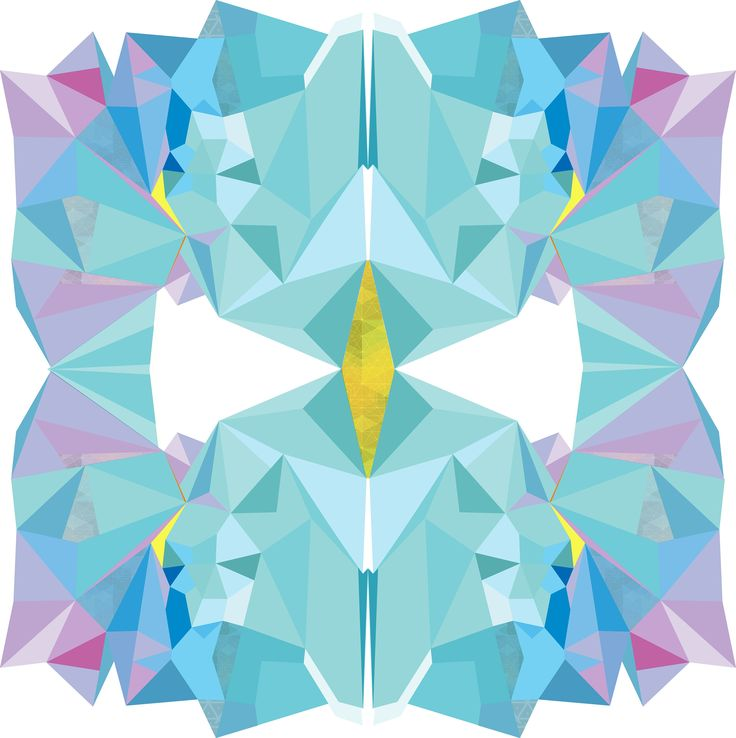 Wall Art Geometric 'TURQOUISE' Mash  | $200.00