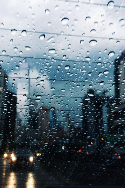 Thunderstorm and Rain in NYC ~ By Belle.Fleur