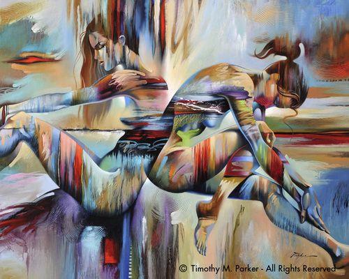 Figure Art, Figurative, Abstract Nude