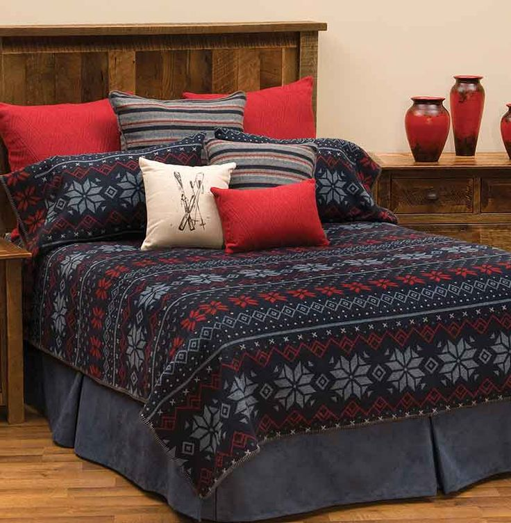 Lodge Style Bedding Country Western Bedroom Decorating