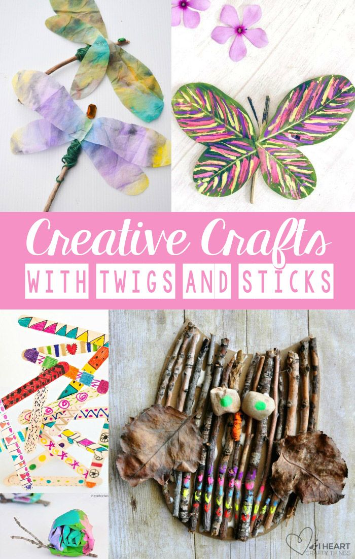 Creative Crafts with Sticks and Twigs