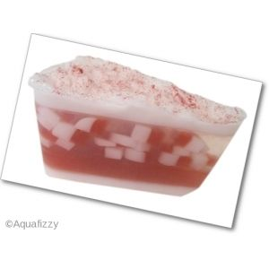 Peppermint Soap Slice  Handmade moisturising, glycerine soap with a wonderful, refreshing aroma of Peppermint Essential Oil, with a little b...