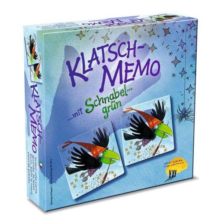 Memo Csatt, Klatsch-Memo partikártyajáték 3 éves kortól - Drei Hasen