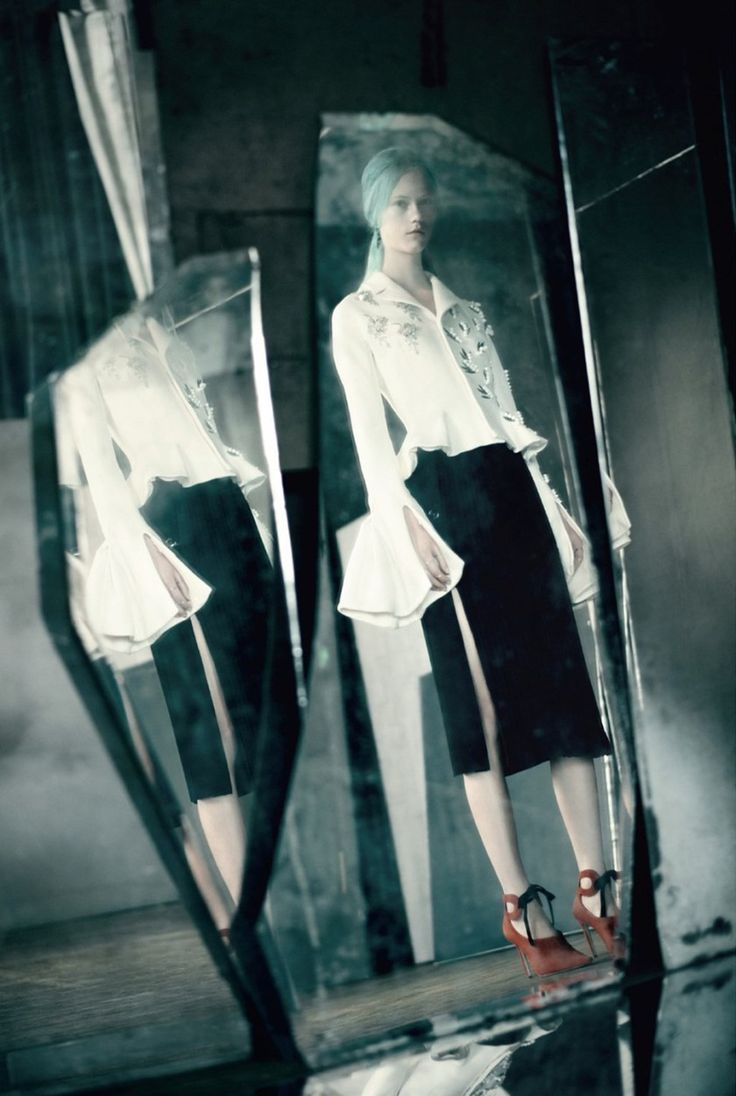 DIOR MAGAZINE Mirror, Mirror by Paolo Roversi. Jacob K, Summer 2016