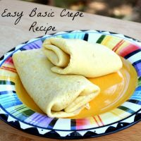 Simple Crepes – Basic Crepe Recipe | Nibbles and Noshes